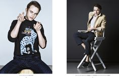 Dane DeHaan Covers Flaunt Magazine