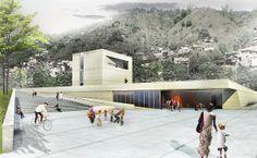 centro cívico- La Tablaza- Medellin