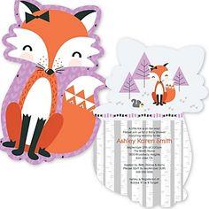Miss Foxy Fox - Baby Shower Theme   BigDotOfHappiness.com