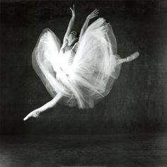 just beautiful, dancer in flight