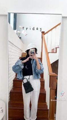 Casual Hijab Outfit, Ootd Hijab, Casual Outfits, Modern Hijab Fashion, Hijab Fashion Inspiration, Aesthetic Clothes, Aesthetic Outfit, Hijab Fashionista, Girl Fashion