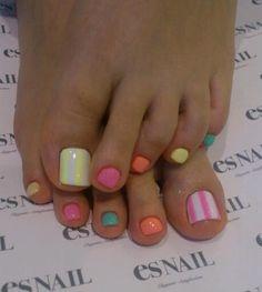 2014 nail art #pedicure