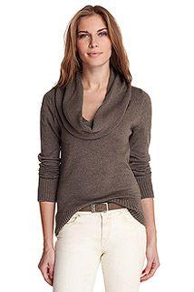 silky fine knit sweater