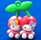 Hello Kitty X Cherries Twins Swarovski Element Crystal Japan Charm