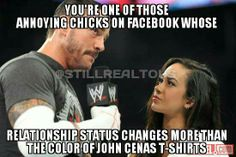 WrestlingLOL - CM Punk Confronts AJ Lee......