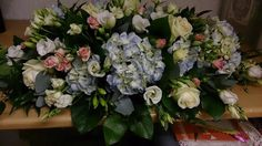 Beautiful top table arrangement made by Scentsational flowers Ickenham