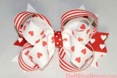 Valentine's Day Bow Feature - The Ribbon Retreat Blog