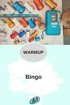 Kennenlern*Bingo ist eine sehr nette Methode, dass sich die Teilnehmer*innen noch besser kennen lernen und nach einer Pause gut durch starten zu können _________________________________________________ #tools #toolbox #workshops #warmup #moderation #coaching #coach #berater #seminar #methode #methodenkoffer Pinterest Profile, Pause, Tool Box, Coaching, Bingo Template, Getting To Know, Tips, Training, Toolbox