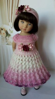 """OOAK Outfit for doll 13"""" Dianna Effner Little Darling) collection romantic  #DiannaEffner"""