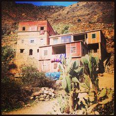 Berber village, Atlas Mountains, Marrakech