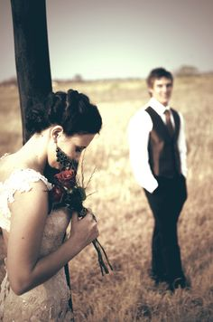 Like the pose and how the date is blurred in the background .... dream like