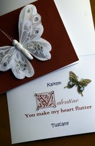 Valentine Cards – You Make My Heart Flutter Valentine Cards, Valentines Day, You Make Me, How To Make, Heart Flutter, Note Cards, My Heart, Card Stock, To My Daughter