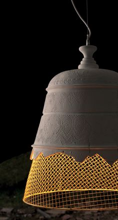 GYPSUM PENDANT LAMP DOMENICA BY @karmansrl  | DESIGN DARIO DE MEO, LUCA DE BONA