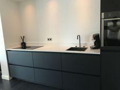 Cuisines Design, Design Moderne, Kitchen Interior, Double Vanity, Ideas Para, Nest, Kitchen Ideas, Kitchens, Home And Garden