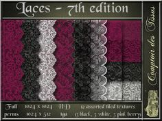 Laces - 7th edition