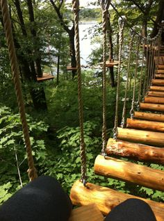 Treetop Trekking in the aerial games and zip line park in Brampton. These look good! Jet Plane, Things To Know, Garden Bridge, Trekking, Cabins, Travel Ideas, Toronto, National Parks, To Go