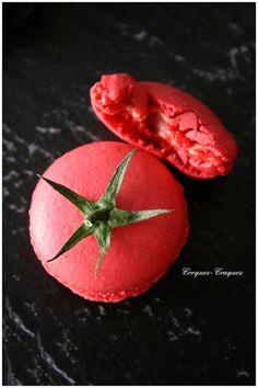 """Croquez, craquez: Mes macarons se font """"tomates"""" !"""