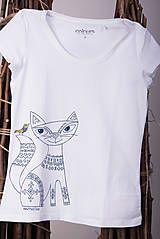 Tričká - Maľované tričko mačička - folk - 9061859_ #detskamoda#jedinecnesaty#handmade#originalne#slovakia#slovenskydizajn#móda#šaty#original#fashion#dress#modre#ornamental#stripe#dresses#vyrobenenaslovensku#children#fashion#rucnemalovane#folk Folk, Modeling, Fashion, Moda, Popular, Modeling Photography, La Mode, Fork, Fasion