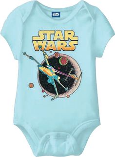 Baby Gifts and Goodies - Star Wars X-Wing Baby Onesie, (http://www.babygiftsandgoodies.com/star-wars-x-wing-baby-onesie/)