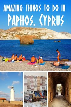 A travel guide to 10 of the best things to do in Paphos, Cyprus. Visit the Tomb of the Kings, Europe Travel Tips, Asia Travel, Travel Guides, Travel Destinations, Wanderlust Travel, Iceland Travel, Travel Goals, Travel Advice, Limassol