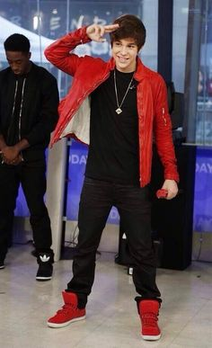 Austin Mahone Live Today Show. What about love♥