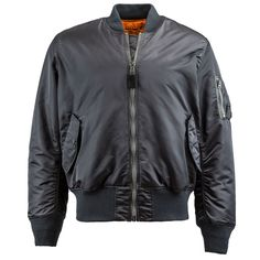 MA-1 Flight Jacket // http://www.alphaindustries.com/mens-flight-jackets/alpha-industries-ma-1-flight-jacket.htm