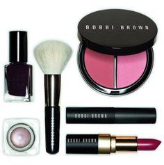 Pink Bobbi Brown makeup set