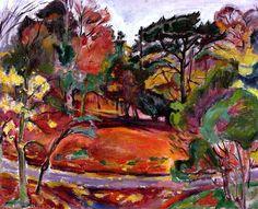 Autumn in Honfleur, Cote de Grace Emile-Othon Friesz