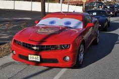 Coatsville Christmas Parade - Lightning McQueen from Cars