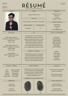 27 Beautiful Résumé Designs You'll Want To Steal