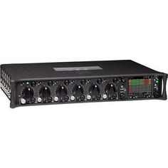 Sound Devices 664 Six-Channel Portable Production Mixer with Integrated Recorder