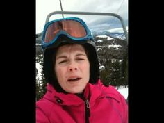 check the tech lesson delivered from a chairlift!