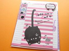 Kawaii Cute Letter Set Crux *Pattern Cat (08014)