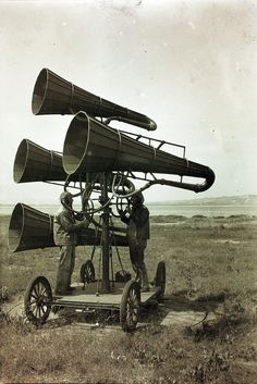 World War I 'listening device': 'You know what, I think there could be someone coming...'