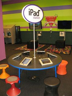 ipads in school library design - Google Search