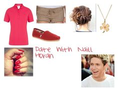 """Date with niall horan"" by kaylaharris1998 ❤ liked on Polyvore"