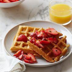 Wild Apple Magazine's Gluten-Free Waffles