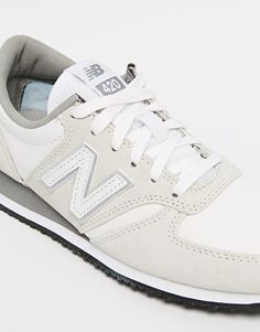 6ab4ff85d1 Image 4 of New Balance 420 Cream Suede Trainers