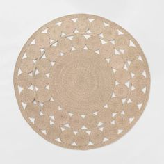 6' Ornate Woven Round Outdoor Rug - Opalhouse™ : Target