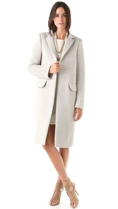 PHILOSOPHY DI ALBERTA FERRETTI Felted Wool Coat