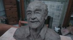Model at clay stage