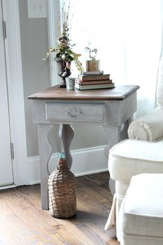 Curvy side table mak