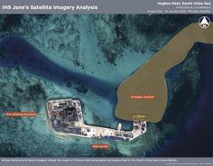 Hughes Reef, South China Sea.
