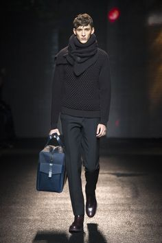 Salvatore Ferragamo Fall/Winter Men's Collection 2013  OMG i am in love with that sweater!!!:)))<3