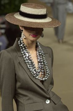 Those pearls...