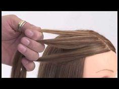 The Basic Art of Braiding Hair - YouTube