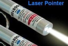 FOR A TIME I THOUGHT THIS WAS A WHITE LASER BUT ITS NOT ITS A LED FLASH LIGHT...