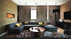 Apartament Wiślane Tarasy kuchnia, salon, jadalnia, łazienka, gabinet, sypialnia. Zajmujemy się projektowaniem oraz urządzaniem wnętrz pod klucz. Więcej naszych projektów znajdziesz na www.monostudio.pl