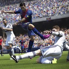 Fifa 2014 já foi anunciado pela Electronic Arts! Vocês viram as imagens do game? Ele chega às lojas no fim do ano para PS3, Xbox 360 e PCs. Ansiosos para disputar uma partida mais realista e com maior nível de dificuldade? #FIFA #Game #Futebol