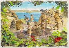 「Mesolithic」中石器時代 (20000– 7500 BC)